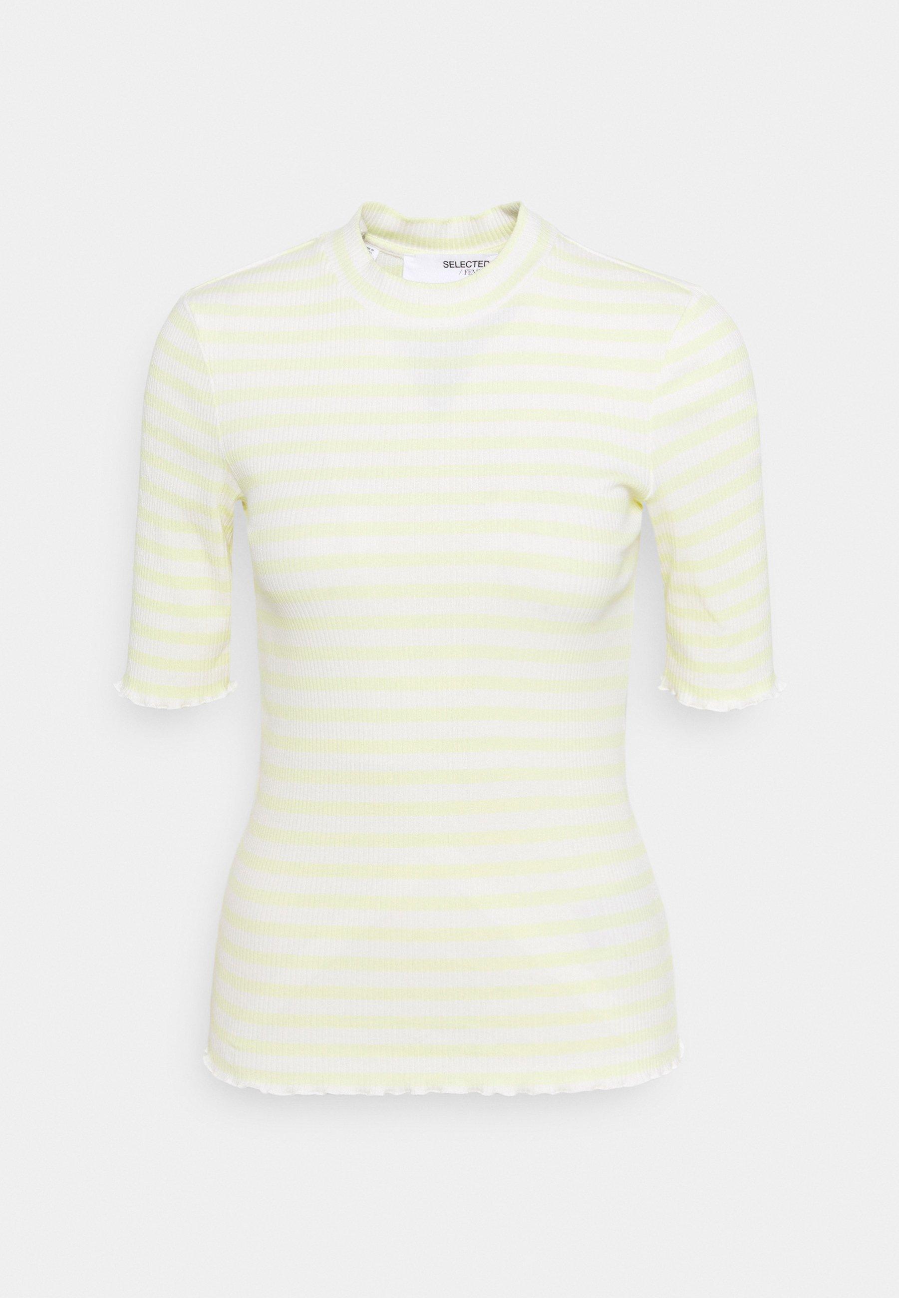 Women ANNA CREW NECK TEE - Print T-shirt