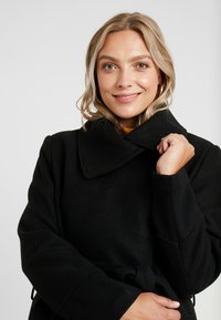 Anna Field Curvy - Classic coat - black - 3