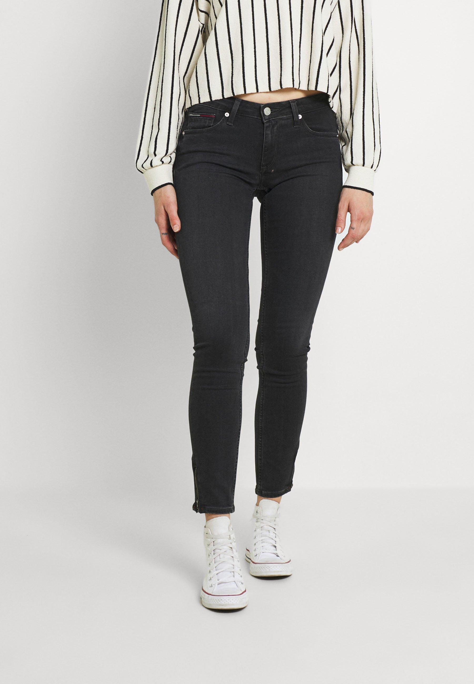 Damer SOPHIE ANKLE ZIP - Jeans Skinny Fit
