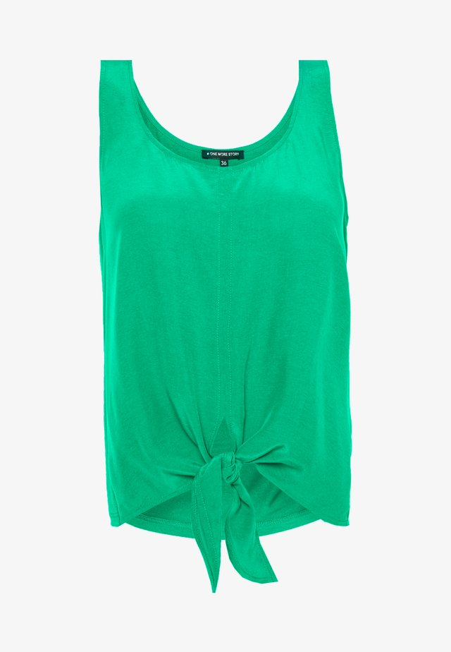 TOP - Blouse - jelly green