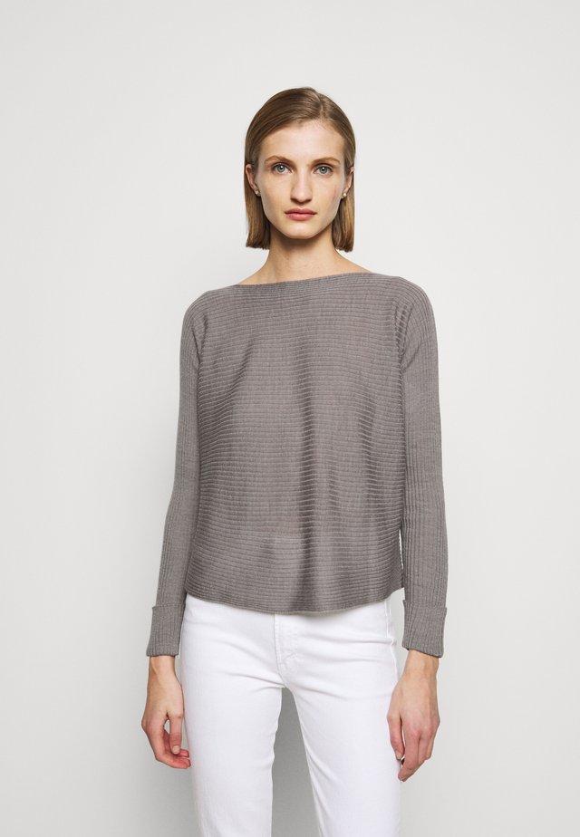 IMMENSO - Stickad tröja - grigio perla