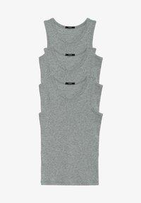 Tezenis - 3 MULTIPACK - Undershirt - grigio mel.chiaro - 0