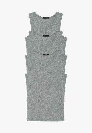 3 MULTIPACK - Undershirt - grigio mel.chiaro