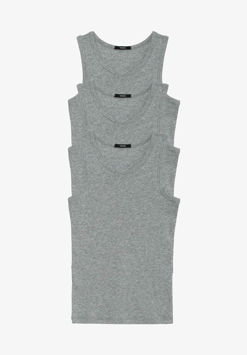 Tezenis - 3 MULTIPACK - Undershirt - grigio mel.chiaro