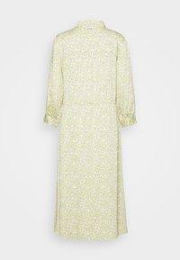 mine to five TOM TAILOR - DRESS DRAWSTRING - Shirt dress - mellow yellow - 1