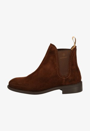 Ankle boots - dark brown
