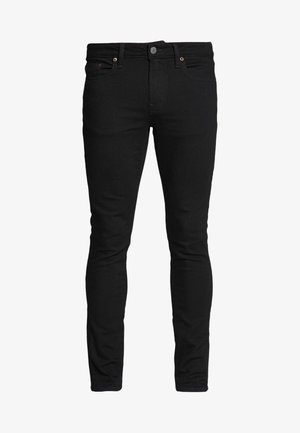 SKINNY BLACK - Vaqueros pitillo - black