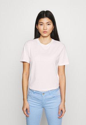 SLFMY PERFECT SS TEE BOX CUT COLOR B - Basic T-shirt - primrose pink