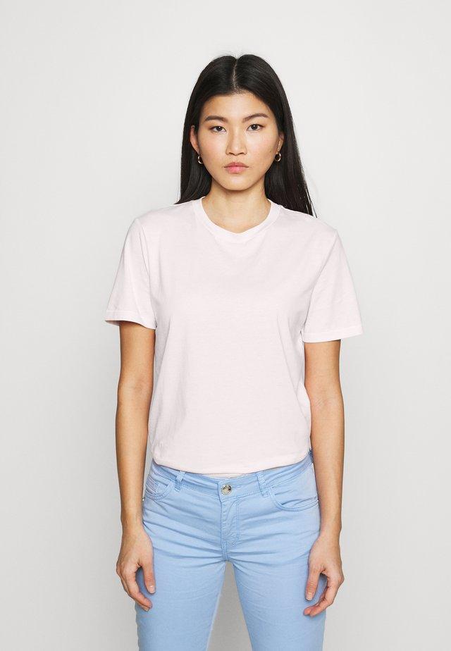 SLFMY PERFECT TEE BOX CUT COLOR - T-Shirt basic - primrose pink