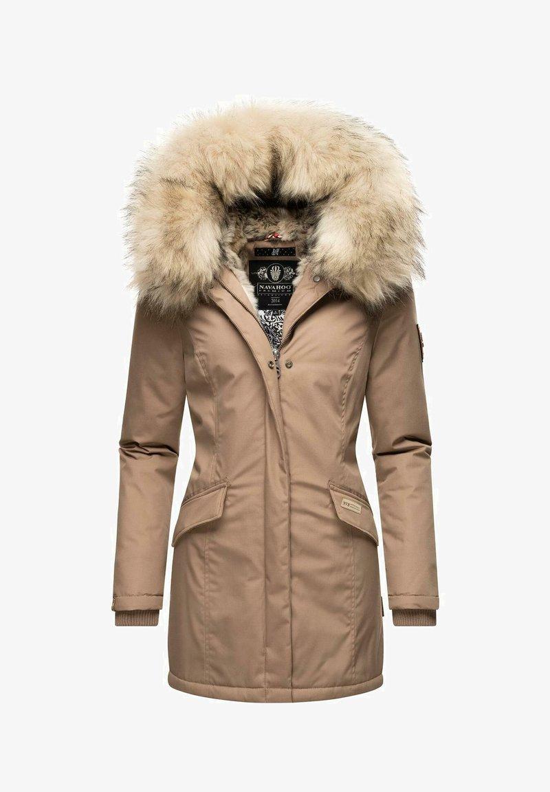 Navahoo - Winter coat - taupe grey