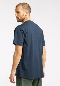 Haglöfs - Print T-shirt - tarn blue - 1