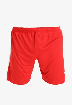 LIGA - Short de sport - red/white