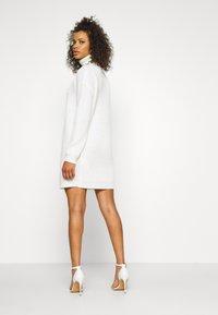 Missguided Tall - ROLL NECK BASIC DRESS - Jumper dress - off white - 2
