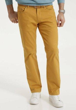 Trousers - senfgelb