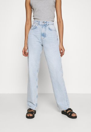 90S HIGH WAIST - Jeans relaxed fit - sky blue