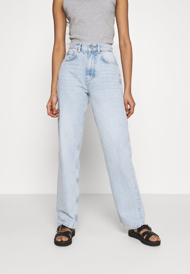 HIGH WAIST - Jeans relaxed fit - sky blue