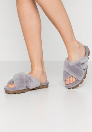 FUZZETTE - Slippers - grey