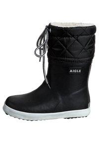 Aigle - GIBOULÉE - Gummistövlar - noir blanc - 4