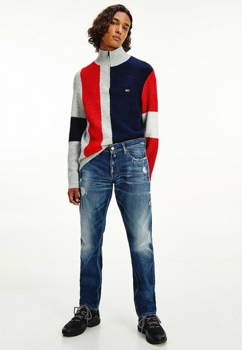 Tommy Jeans - Straight leg jeans - dark-blue denim