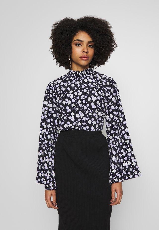 FLOWER  - Blus - black