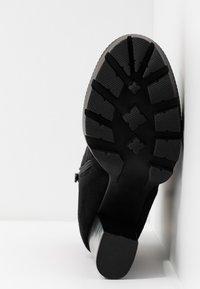 RAID - LONDON - Kotníková obuv na vysokém podpatku - black - 6