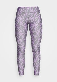 Pink Soda - ZEBRA TIGHT - Leggings - lilac
