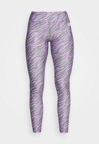 ZEBRA TIGHT - Leggings - lilac
