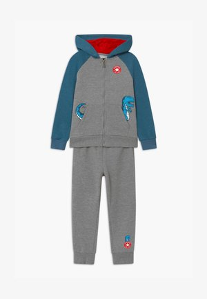 COLORBLOCK DINO SET - Tracksuit - grey heather