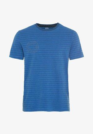 KURZARM - Print T-shirt - strong blue