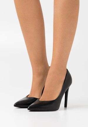 WIDE FIT PIETRA - Højhælede pumps - black