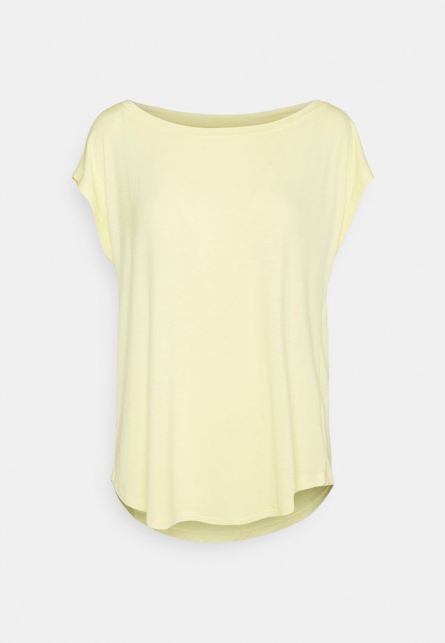 LUXE  - T-shirt basic - creamy yellow