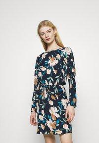 ONLY - ONLNOVA LUX DRAW STRING DRESS - Day dress - night sky - 0