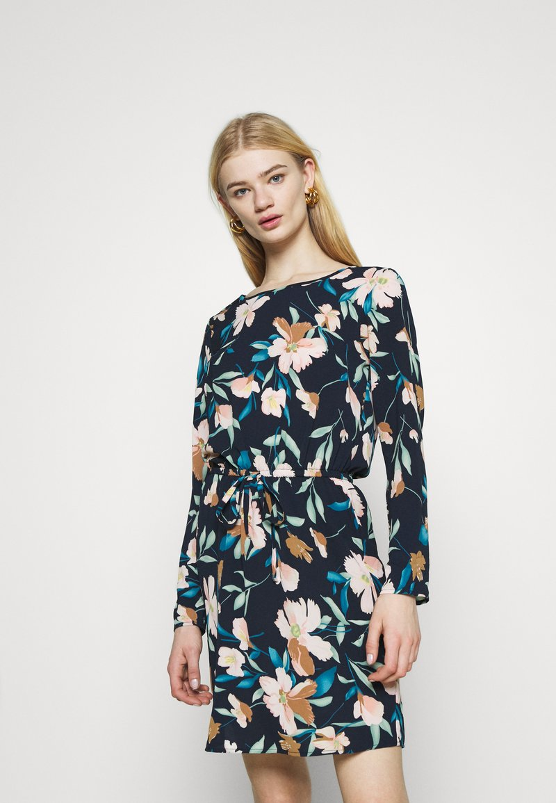 ONLY - ONLNOVA LUX DRAW STRING DRESS - Day dress - night sky