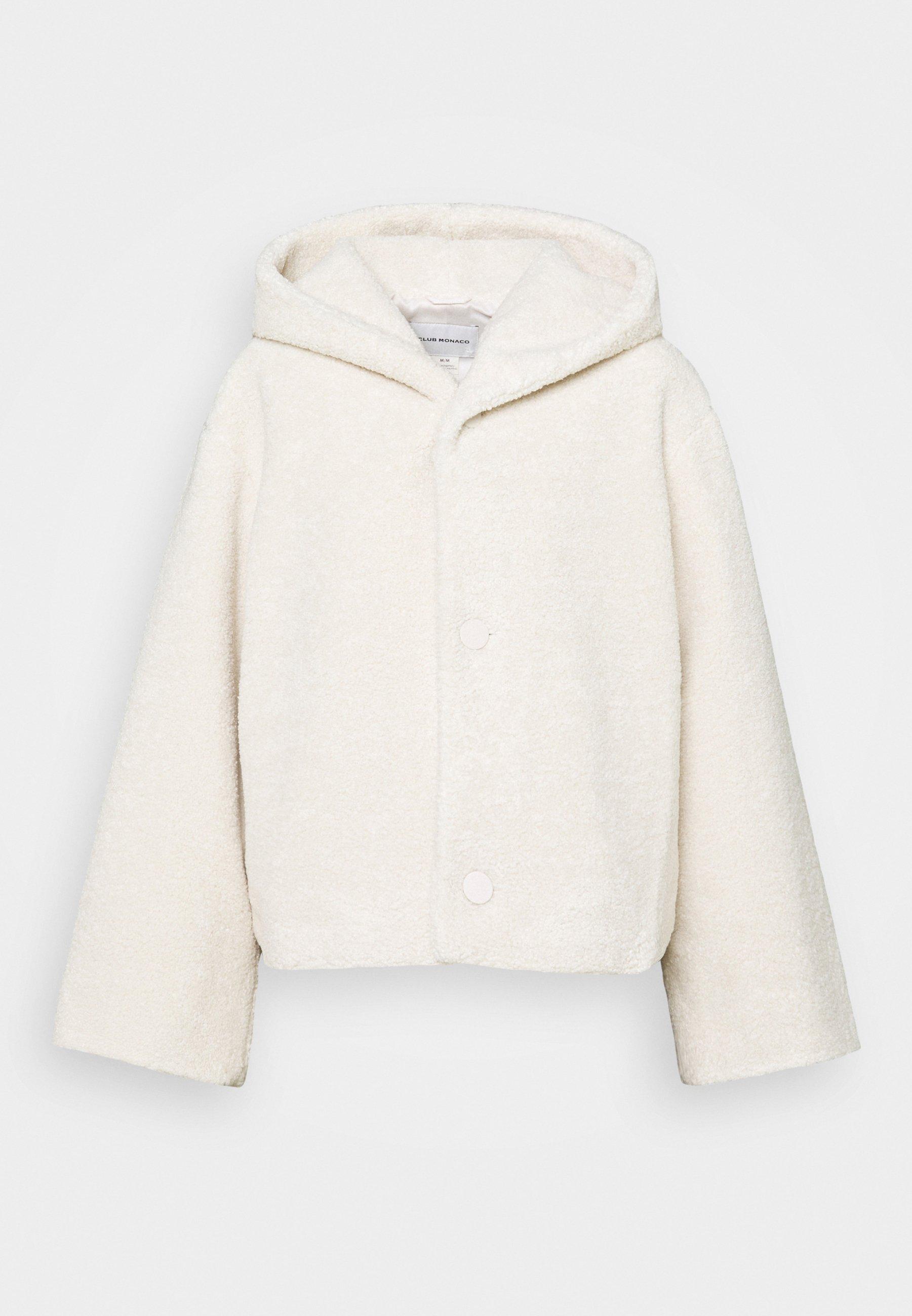 Women CROPPED TEDDY COAT - Winter jacket
