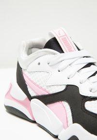 Puma - NOVA 90'S BLOC - Trainers - white/pale pink - 5