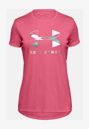 GRAPHIC BIG LOGO - Print T-shirt - pink lemonade