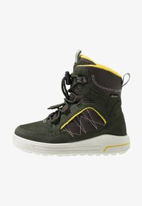 ECCO - URBAN SNOWBOARDER - Winter boots - deep forest/canary - 1