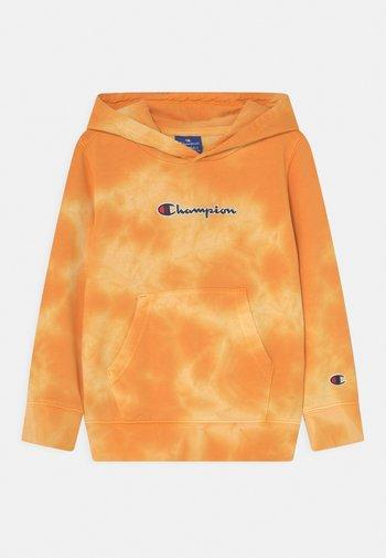COLOR SPLASH HOODED UNISEX - Sweater met rits - gold