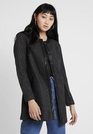 ONLADELINA ADELE BONDED COATIGAN - Short coat - dark grey