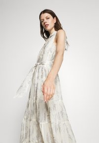 Lauren Ralph Lauren - PUJA SLEEVELESS DAY DRESS - Maxi dress - white/silver - 3