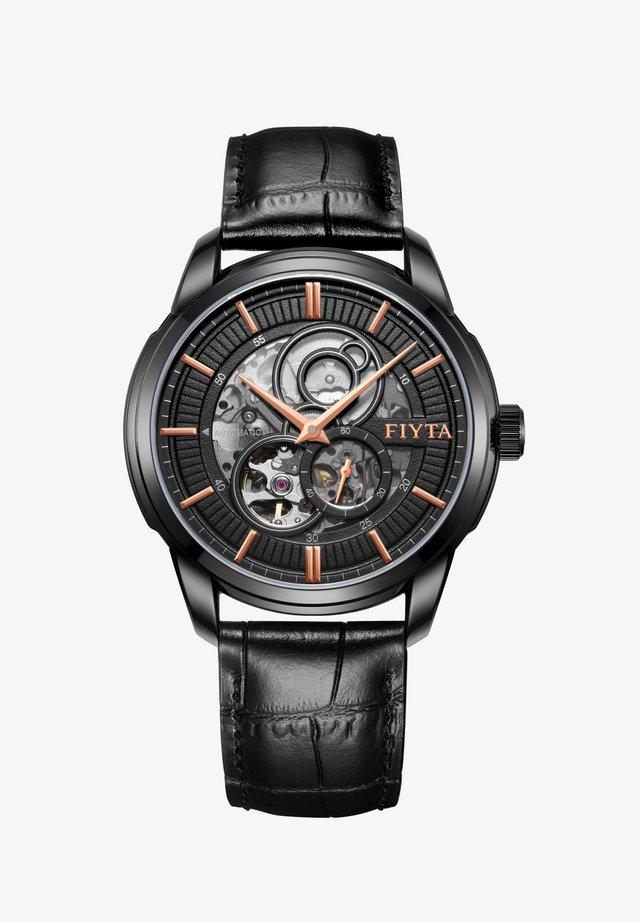 CLASSIC AUTOMATIKUHR - Chronograph watch - black