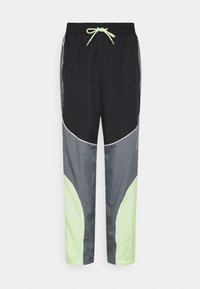 Nike Performance - FLY PANT - Träningsbyxor - smoke grey/black/barely volt - 5