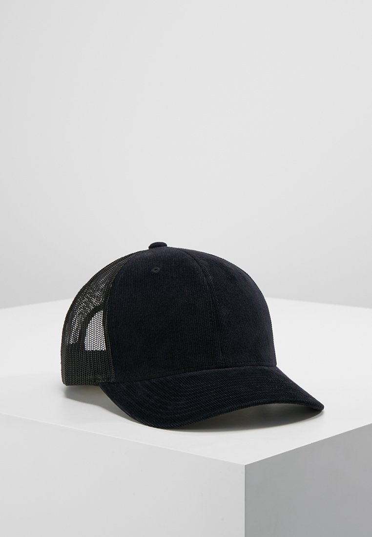 Flexfit - CORDUROY RETRO TRUCKER - Casquette - black