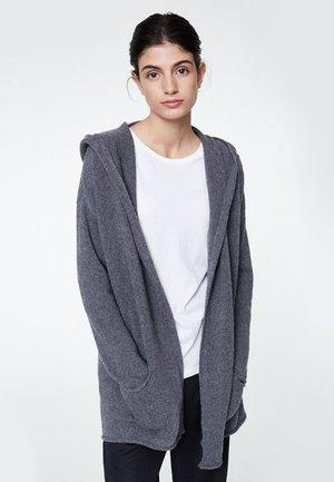VALDA - Cardigan - mid grey melange