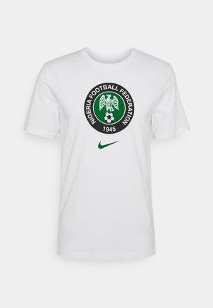 NFF NIGERIA TEE EVERGREEN CREST - Article de supporter - white