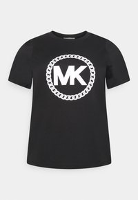 MICHAEL Michael Kors - CHAIN PRINT LOGO - Triko spotiskem - black - 0