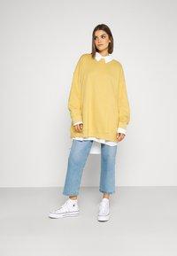 Monki - BEATA - Sweatshirt - yellow - 1