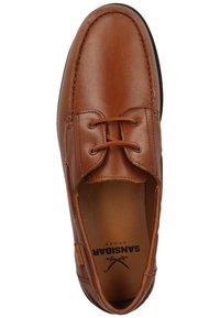 Sansibar Shoes - SANSIBAR HALBSCHUHE - Bootschoenen - dunkelbraun 41 - 3
