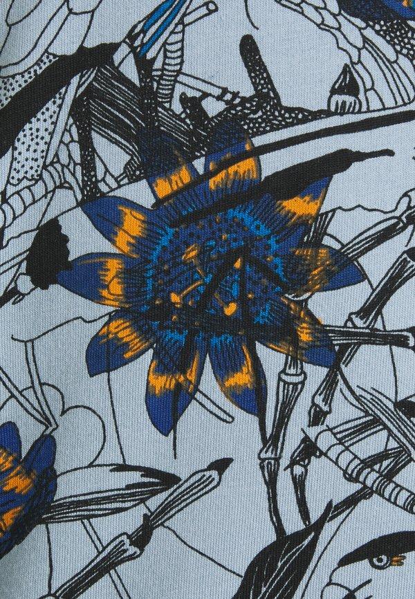 Petrol Industries T-shirt z nadrukiem - parott blue/niebieski Odzież Męska YIMO