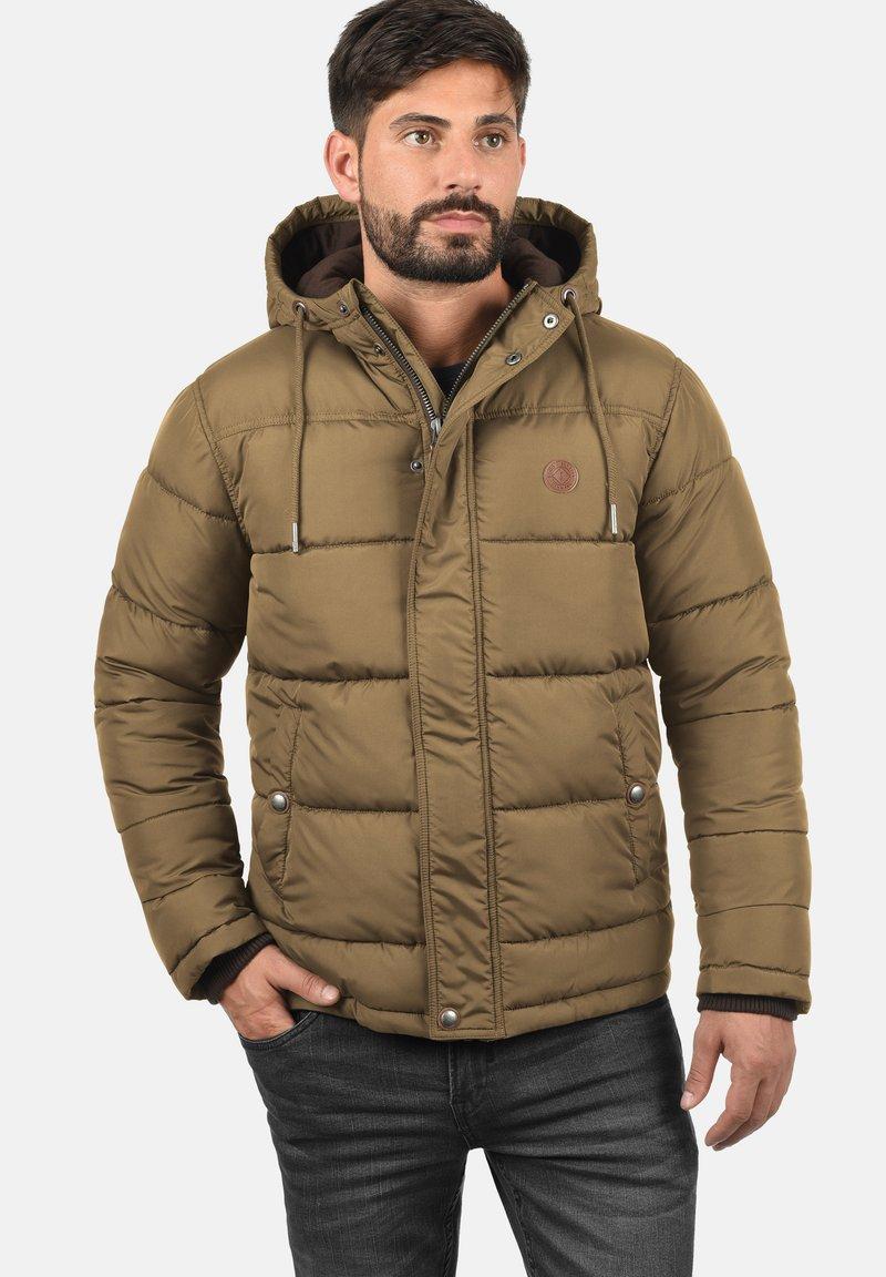 Solid - DENILSON - Winter jacket - sepia